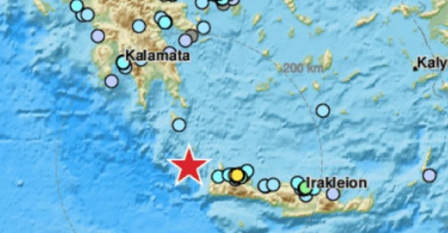 Ισχυρός σεισμός 6,1 ρίχτερ στην Κρήτη, αισθητός στη μισή Ελλάδα