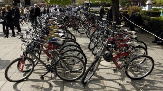 137 ποδήλατα για δωρεάν χρήση σε Βόλο και Ν. Ιωνία