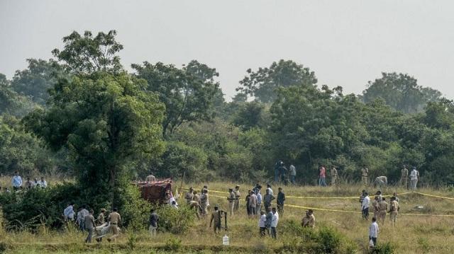 Ινδία: Η αστυνομία σκότωσε 4 άντρες στην αναπαράσταση του φόνου 27χρονης