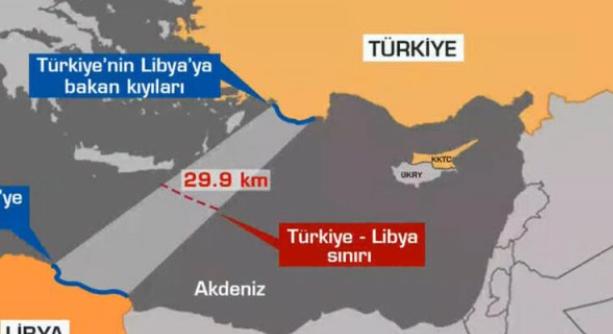 Λιβύη : Εθεσε σε ισχύ τη συμφωνία με την Τουρκία