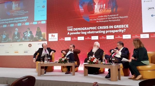 Δημητριάδος Ιγνάτιος: «Να δημιουργηθεί θεσμικός φορέας αντιμετώπισης του δημογραφικού προβλήματος»