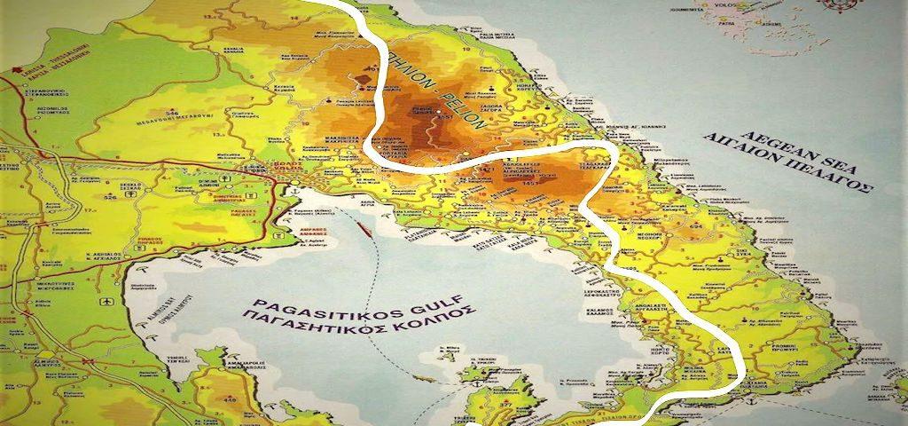 Το Μεγάλο Μονοπάτι του Πηλίου: Μία νέα σηματοδοτημένη διαδρομή 190 χλμ