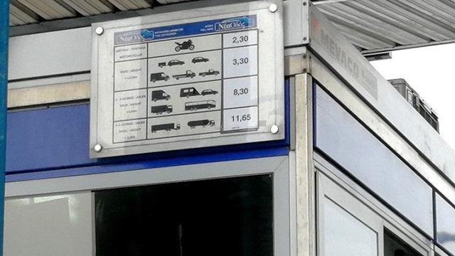 Αμετάβλητες οι τιμές των διοδίων στον Αυτοκινητόδρομο Αιγαίου