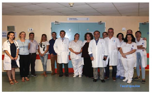 Μία «αγκαλιά» δώρα για τους ασθενείς της Ρευματολογικής Κλινικής