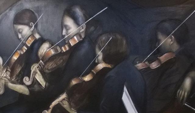 Εμβληματικό εικαστικό «Requiem»  του Γιώργου Κουρκούβελου