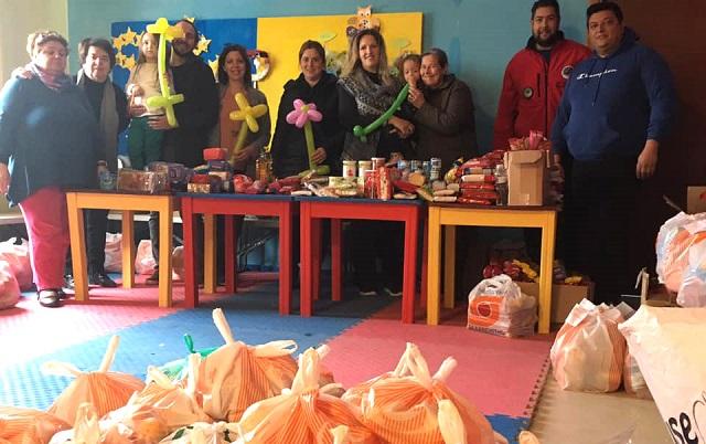 Μεγάλη προσφορά του Γιώργου Αλεξανδρίδη: Τρόφιμα σε 111 άπορες οικογένειες