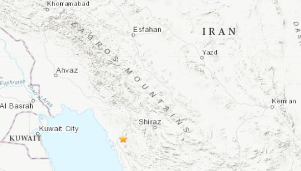 Σεισμός 5,4 Ρίχτερ κοντά σε πυρηνικό σταθμό στο Ιράν