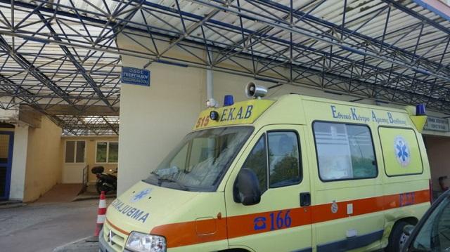 Γυναίκα έπεσε από τον 5ο όροφο πολυκατοικίας στη Λάρισα