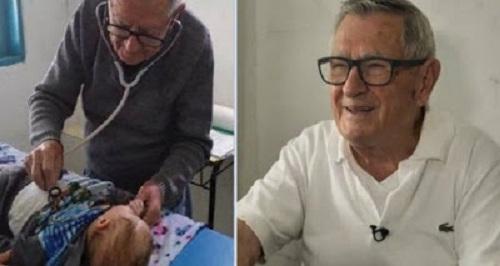 """Παιδίατρος 92 χρονών εξετάζει φτωχά παιδιά δωρεάν - """"Θα πεθάνω προσφέροντας"""""""