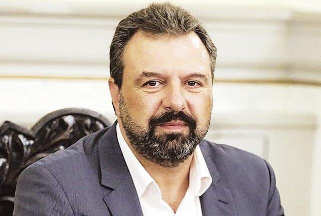 Ο πρ. Υπουργός Σταύρος Αραχωβίτης σε εκδήλωση του ΣΥΡΙΖΑ στον Αλμυρό