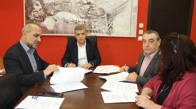 Υπογράφτηκε η προγραμματική σύμβαση για τα Υποβρύχια Μουσεία