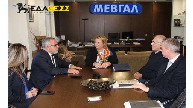 Η μεγαλύτερη γαλακτοβιομηχανία στη Β. Ελλάδα ΜΕΒΓΑΛ στο δίκτυο διανομής της ΕΔΑ ΘΕΣΣ