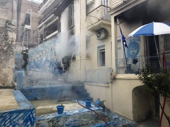 Κάηκε σπίτι από θερμάστρα - Τραυματίστηκε γυναίκα