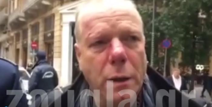 «Με χτυπούσαν 4 λεπτά, κανείς δεν επενέβη»: Τι δήλωσε ο δημοσιογράφος που ξυλοκοπήθηκε