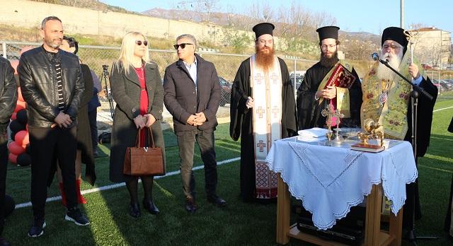 Εγκαινιάστηκε το γήπεδο του Σαρακηνού