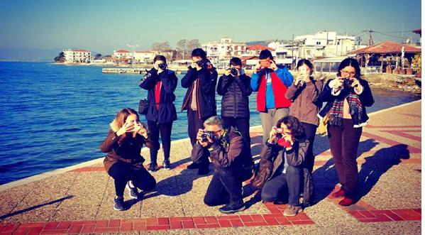 Δράσεις από τις ομάδες φωτογραφίας και σκακιού του Γυμνασίου Αγριάς