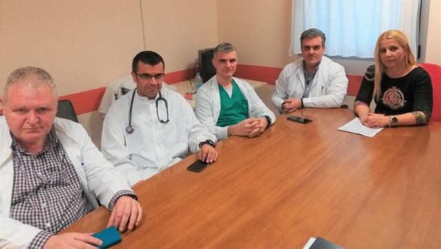Σύσκεψη γιατρών – Κολυνδρίνη για τα προβλήματα του Αχιλλοπούλειου