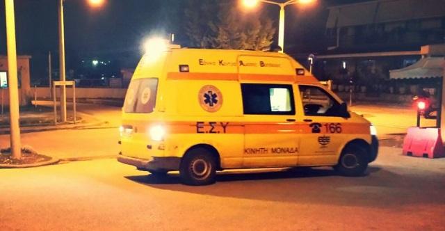 Νεκρός άντρας που παρασύρθηκε από ΙΧ έξω από τη Λάρισα