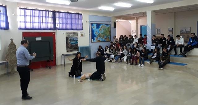 Πιστοποιημένες γνώσεις ΚΑΡΠΑ απέκτησαν μαθητές του Γυμνασίου Ευξεινούπολης