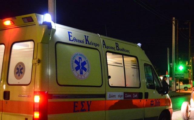 Σοβαρός τραυματισμός δικυκλιστή σε τροχαίο στην Κωνσταντά