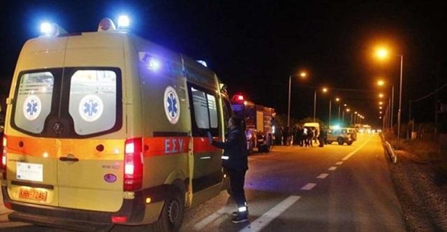 Τραγωδία στην Αγιά: Νεκρός 62χρονος, σοβαρά τραυματισμένη γυναίκα σε μετωπική