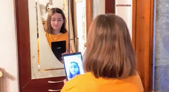 10χρονη έκοψε τα μαλλιά της και τα δώρισε για καλό σκοπό
