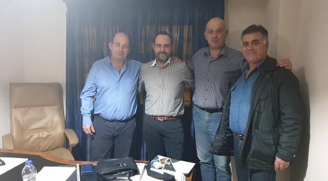 Συνεργασία του Κ. Μαραβέγια με το Σωματείο Εργαζομένων ΕΚΑΒ