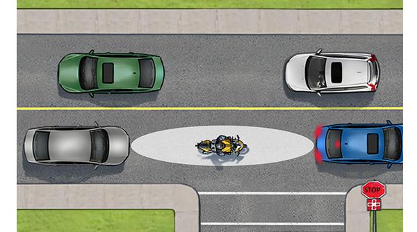 ΜΟΤΟΣΥΚΛΕΤΩΝΤΑΣ… σημαίνει οδηγώ προσεκτικά και αμυντικά!