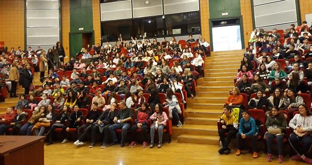 Οι μαθητές του Γυμνασίου Ευξεινούπολης ενημερώθηκαν για την ασφαλή χρήση του διαδικτύου
