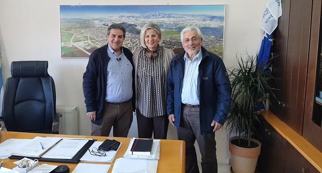 Συνεργασία του Νικ. Ντίτορα με τον Δήμαρχο Φαρσάλων