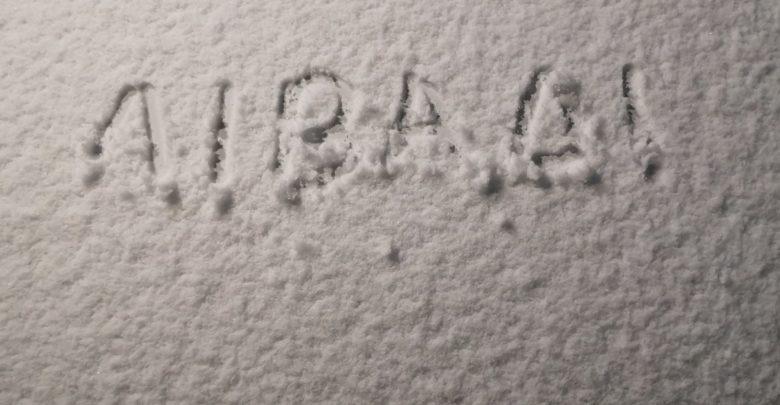 Χιόνισε στο Λιβάδι Ελασσόνας