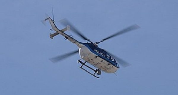 Με ελικόπτερα ο έλεγχος της απαγόρευσης κυκλοφορίας