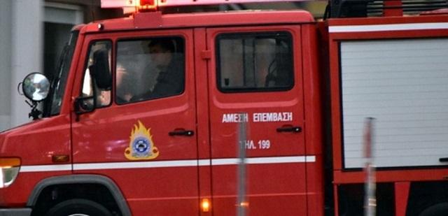 Αυτοκίνητο χτύπησε σε αντλία καυσίμων στο ΣΕΑ Αλμυρού