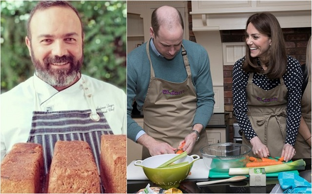 Ανδρέας Λαγός: Μαγειρεύω για την Κέιτ και τον Γουίλιαμ -Τρελαίνονται για φάβα και κριθαράκι