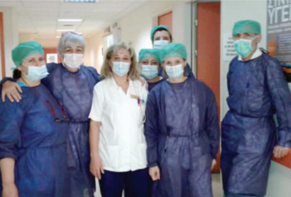 Δίνουν τιτάνιο αγώνα χωρίς ανάσα γιατροί και νοσηλευτές στο Αχιλλοπούλειο