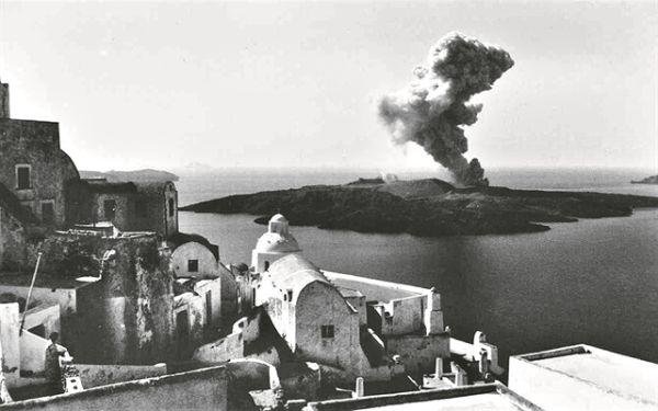 Νέα ανατρεπτική μελέτη για την έκρηξη στο ηφαίστειο της Σαντορίνης