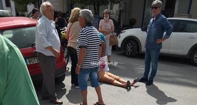 Παράσυρση γυναίκας από ΙΧ μπροστά από το ΤΕΕ Μαγνησίας
