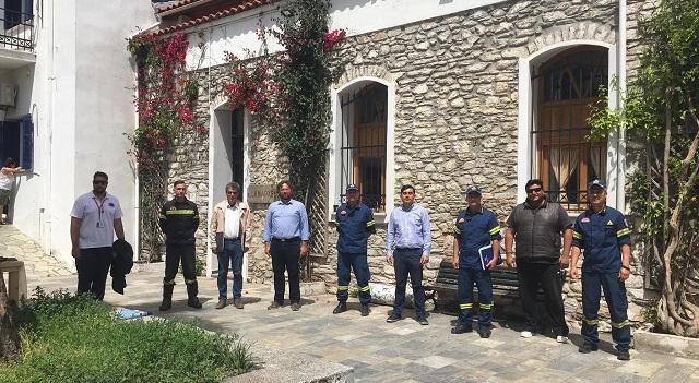 Ιδρυση εποχικού πυροσβεστικού κλιμακίου στις Κουκουναριές