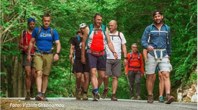 Long Pelion Trail: 190 χιλιόμετρα σε 55 ώρες διέσχισαν 10 Βολιώτες