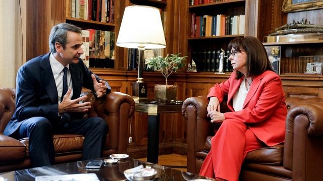 Ηχηρό μήνυμα Σακελλαροπούλου - Μητσοτάκη στην Τουρκία