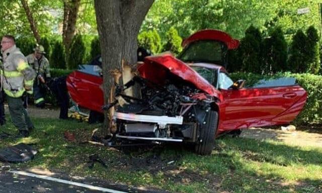 Έκανε «λιώμα» μια Toyota Supra πάνω στο test drive