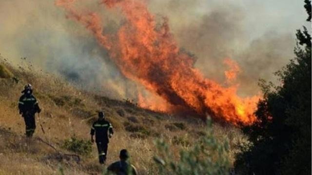 Συλλήψεις για τις φωτιές σε Εύβοια και Κρήτη