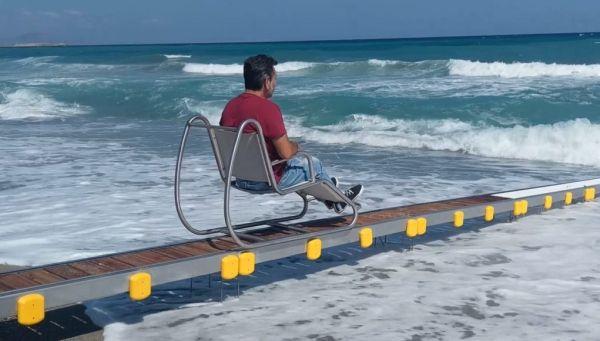 Προμήθεια εξοπλισμού για εξυπηρέτηση ΑμεΑ στις παραλίες του Αλμυρού