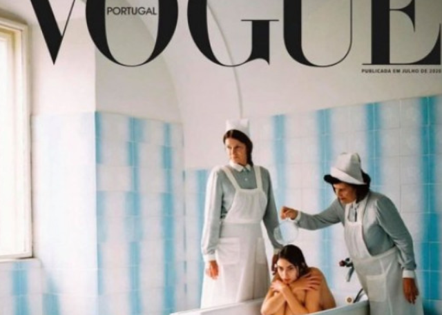 Η Vogue υπερασπίζεται αμφιλεγόμενο εξώφυλλο για την ψυχική υγεία