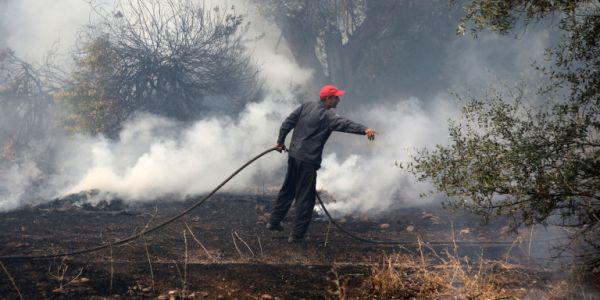 Υψηλός κίνδυνος για πυρκαγιά το Σάββατο - Ποιες περιοχές κινδυνεύουν