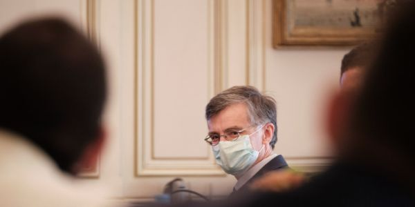 Τσιόδρας στη σύσκεψη για κορωνοϊό: Ανησυχώ για τα Βαλκάνια, χρειάζεται διαρκής επαγρύπνηση