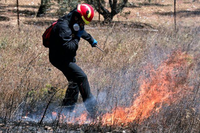 Πολύ υψηλός κίνδυνος πυρκαγιάς την Τρίτη – Δείτε σε ποιες περιοχές
