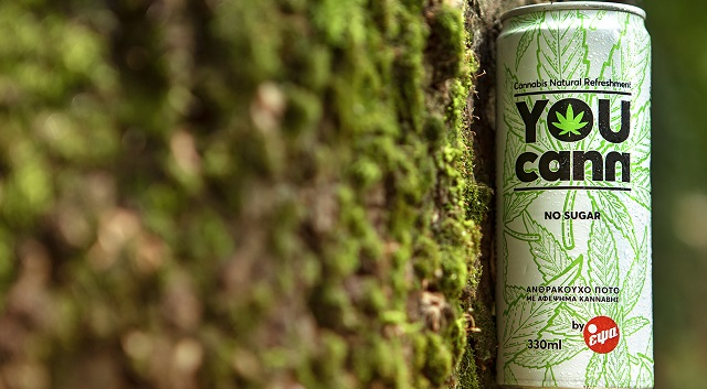 You Cann: Tο φυσικό ανθρακούχο ποτό με αφέψημα κάνναβης της ΕΨΑ
