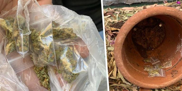 26χρονος έκρυβε ναρκωτικά σε σχολεία στα Εξάρχεια [εικόνες]