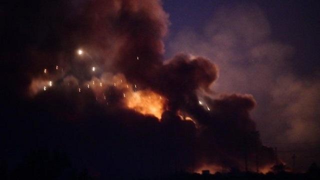 Βαγδάτη: Εκρήξεις σε αποθήκη όπλων από τις υψηλές θερμοκρασίες